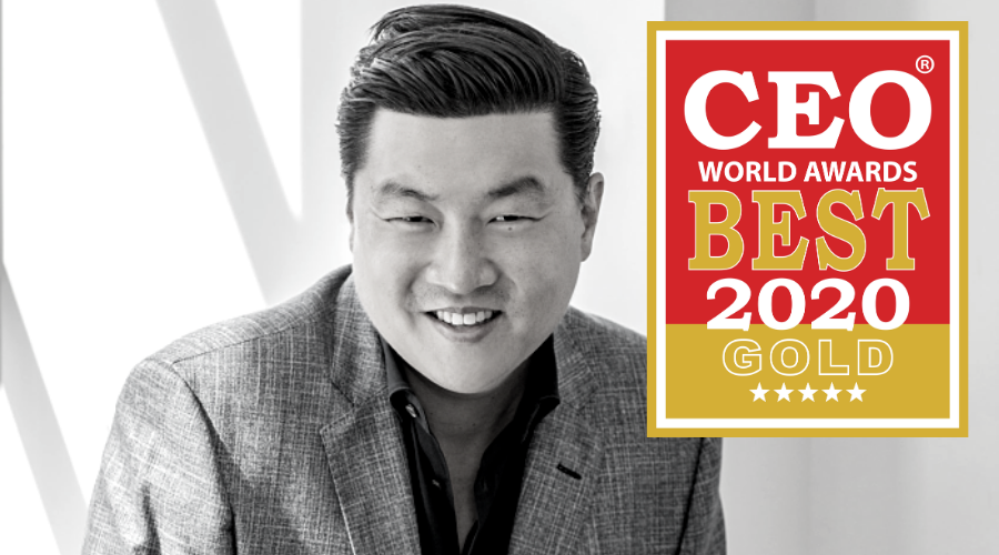 CEO World Award Jason Lee DailyPay